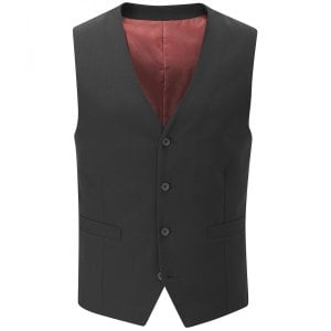 Skopes Kingsize MM1327 Darwin Suit Waistcoat Black