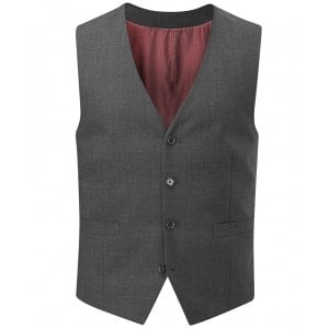 Skopes Kingsize MM1331 Darwin Suit Waistcoat Charcoal