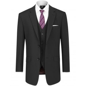 "Skopes Kingsize MM1827 Darwin Suit Jacket Black (46-54"")"