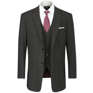 "Skopes Kingsize MM1831 Darwin Suit Jacket Charcoal (46-54"")"