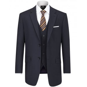 "Skopes Kingsize MM1826 Darwin Suit Jacket Navy (46-54"")"