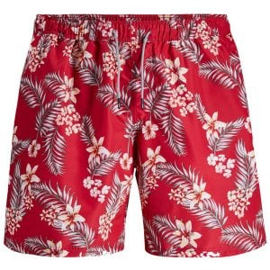 Jack & Jones Aurba Tropic Swimshorts Chili