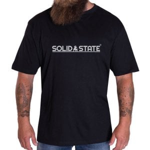 Solid State Kingsize Tampa T-Shirt Black