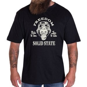 Solid State Kingsize Arizona T-Shirt Black