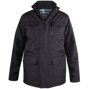 D555 Kingsize Fargo 5 Pocket Jacket Black