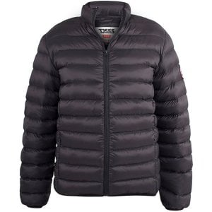 D555 Kingsize Paxton Puffer Jacket Black