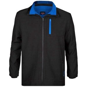 Espionage Kingsize FL031 Softshell Jacket Black/Royal