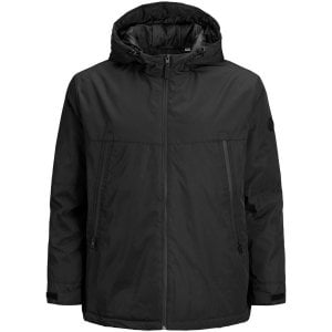 Jack & Jones Kingsize Beatle Jacket Black