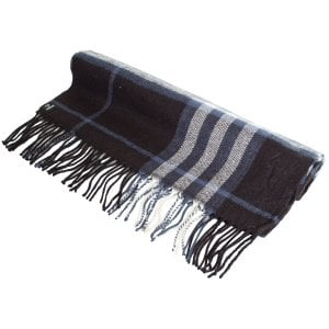 Superdry NYC Scarf Black Check