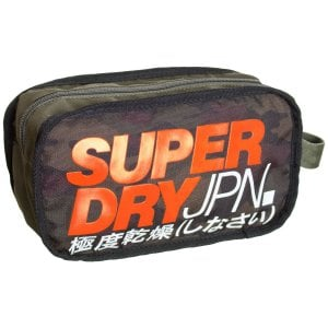 Superdry Camo Washbag Green Camo
