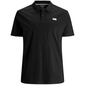 Jack & Jones Kingsize Schultz Turk Polo Black