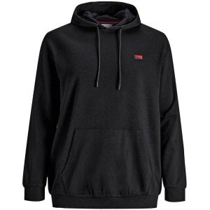 Jack & Jones Kingsize Schultz Hoodie Black