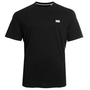 Jack & Jones Kingsize Schultz T-Shirt Black