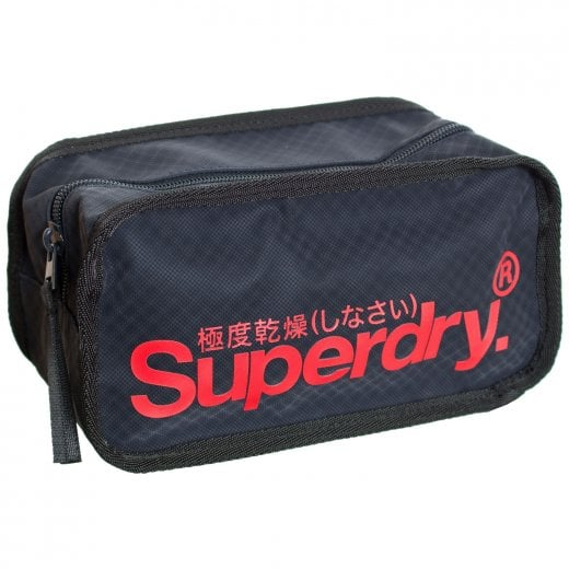 Superdry Combray Tarp Washbag Navy